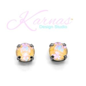 Ochre DeLite Stud Earrings Swarovski Crystal KDS